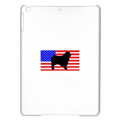Australian Shepherd Silo Usa Flag iPad Air Hardshell Cases