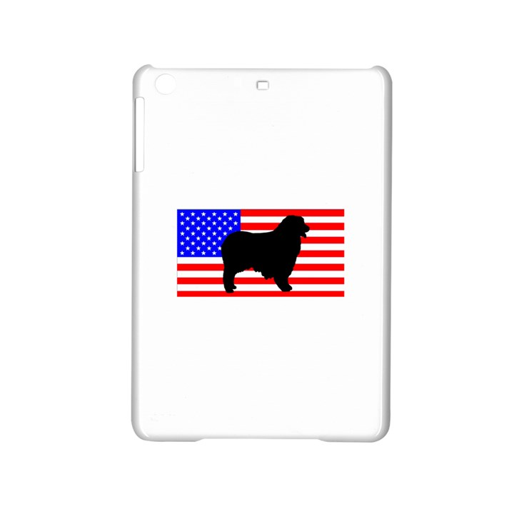 Australian Shepherd Silo Usa Flag iPad Mini 2 Hardshell Cases