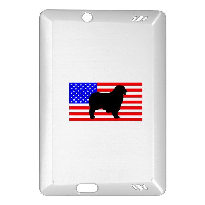 Australian Shepherd Silo Usa Flag Amazon Kindle Fire HD (2013) Hardshell Case