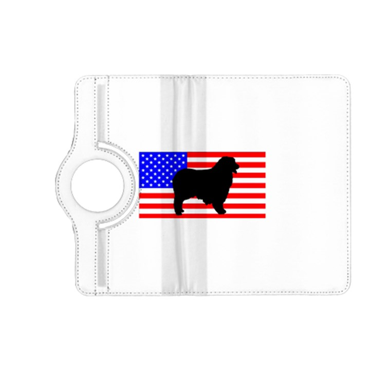 Australian Shepherd Silo Usa Flag Kindle Fire HD (2013) Flip 360 Case