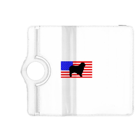 Australian Shepherd Silo Usa Flag Kindle Fire HDX 8.9  Flip 360 Case