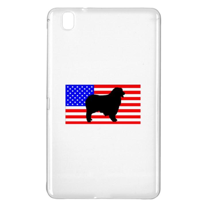 Australian Shepherd Silo Usa Flag Samsung Galaxy Tab Pro 8.4 Hardshell Case