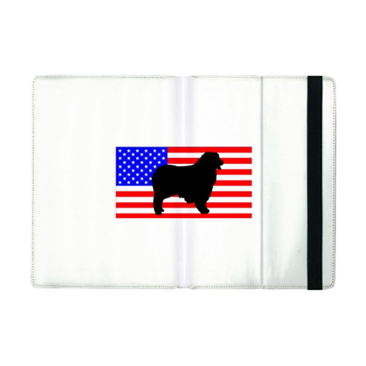 Australian Shepherd Silo Usa Flag iPad Mini 2 Flip Cases