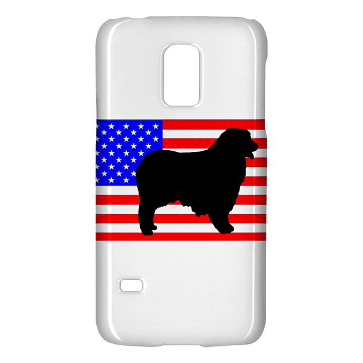 Australian Shepherd Silo Usa Flag Galaxy S5 Mini