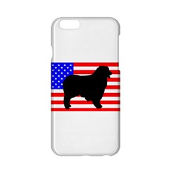 Australian Shepherd Silo Usa Flag Apple iPhone 6/6S Hardshell Case
