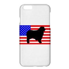 Australian Shepherd Silo Usa Flag Apple iPhone 6 Plus/6S Plus Hardshell Case