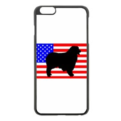 Australian Shepherd Silo Usa Flag Apple iPhone 6 Plus/6S Plus Black Enamel Case