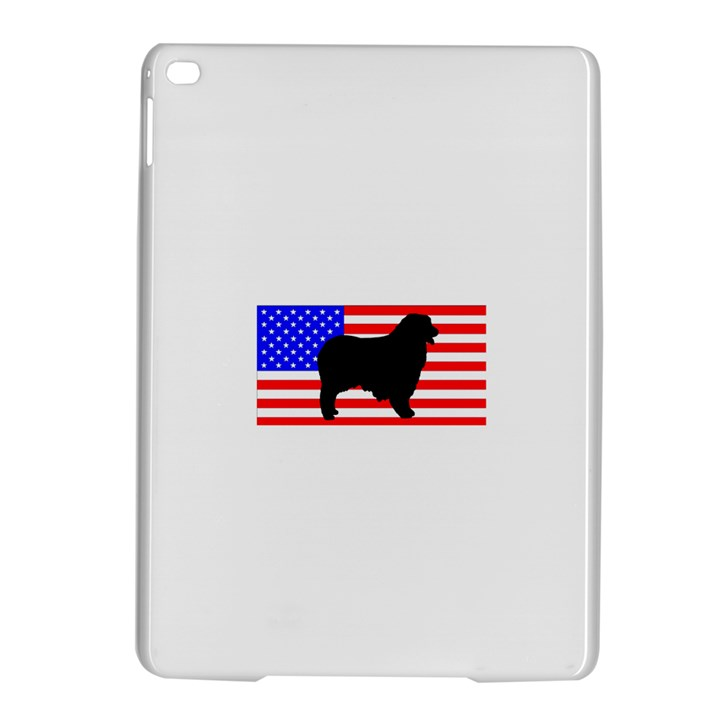 Australian Shepherd Silo Usa Flag iPad Air 2 Hardshell Cases