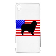 Australian Shepherd Silo Usa Flag Sony Xperia Z3