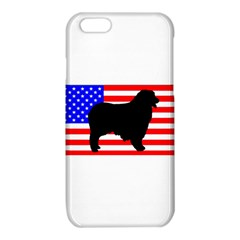 Australian Shepherd Silo Usa Flag iPhone 6/6S TPU Case