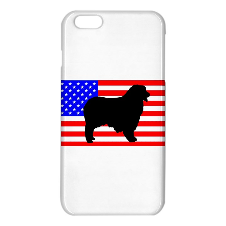 Australian Shepherd Silo Usa Flag iPhone 6 Plus/6S Plus TPU Case