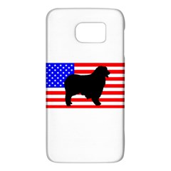 Australian Shepherd Silo Usa Flag Galaxy S6