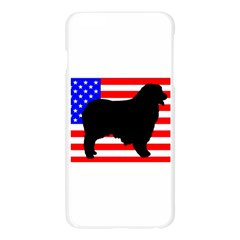 Australian Shepherd Silo Usa Flag Apple Seamless iPhone 6 Plus/6S Plus Case (Transparent)