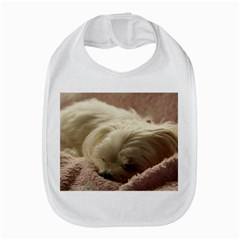 Maltese Sleeping Bib