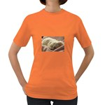 Maltese Sleeping Women s Dark T-Shirt Front