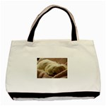 Maltese Sleeping Basic Tote Bag Front