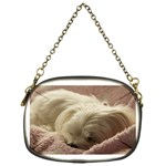 Maltese Sleeping Chain Purses (One Side)  Front