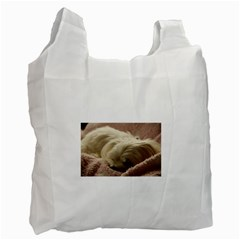 Maltese Sleeping Recycle Bag (Two Side)