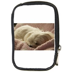 Maltese Sleeping Compact Camera Cases