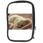 Maltese Sleeping Compact Camera Cases Front