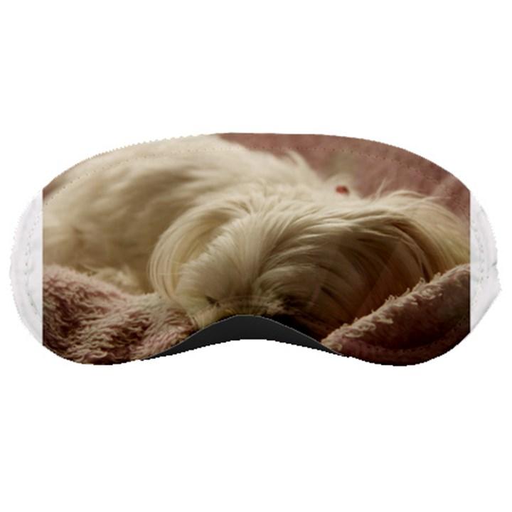 Maltese Sleeping Sleeping Masks