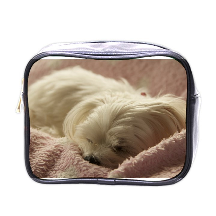 Maltese Sleeping Mini Toiletries Bags