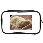 Maltese Sleeping Toiletries Bags Front