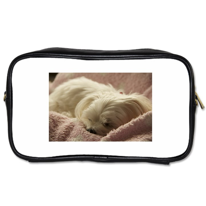 Maltese Sleeping Toiletries Bags 2-Side