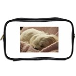 Maltese Sleeping Toiletries Bags 2-Side Back