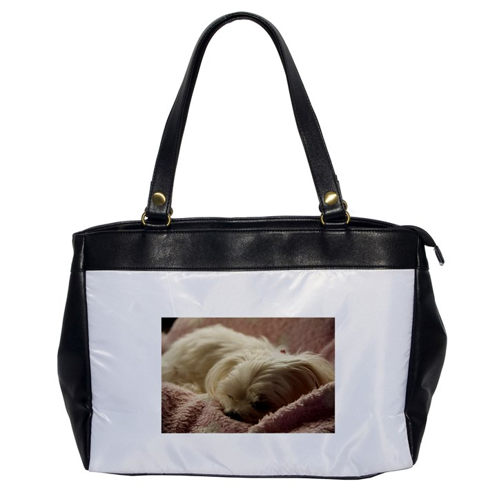 Maltese Sleeping Office Handbags