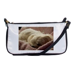 Maltese Sleeping Shoulder Clutch Bags