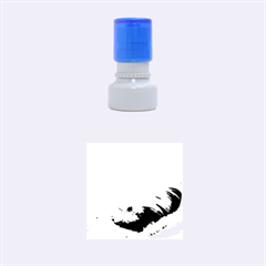Maltese Sleeping Rubber Round Stamps (Small)