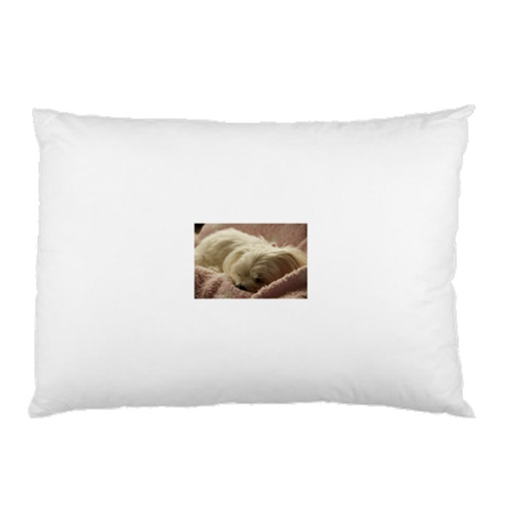 Maltese Sleeping Pillow Case (Two Sides)