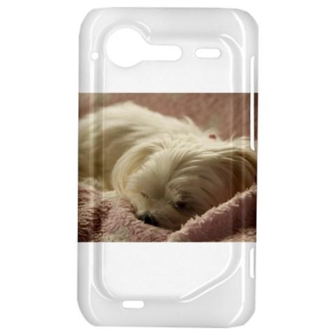 Maltese Sleeping HTC Incredible S Hardshell Case