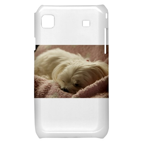 Maltese Sleeping Samsung Galaxy S i9000 Hardshell Case