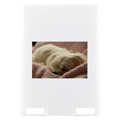 Maltese Sleeping Kindle Touch 3G