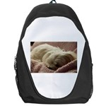 Maltese Sleeping Backpack Bag Front