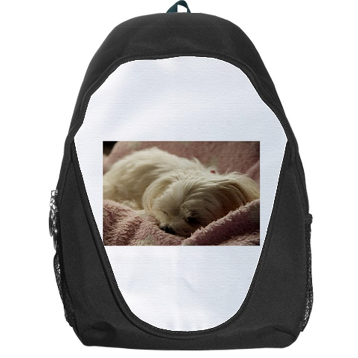 Maltese Sleeping Backpack Bag