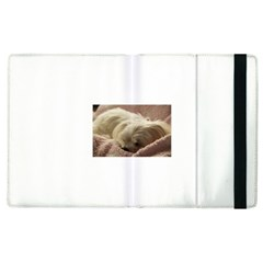Maltese Sleeping Apple iPad 2 Flip Case