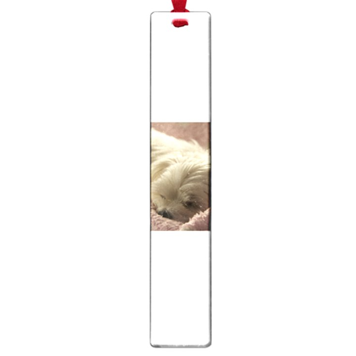 Maltese Sleeping Large Book Marks
