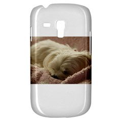 Maltese Sleeping Samsung Galaxy S3 MINI I8190 Hardshell Case