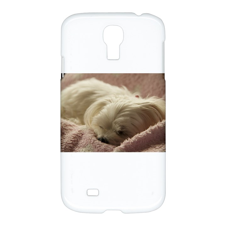 Maltese Sleeping Samsung Galaxy S4 I9500/I9505 Hardshell Case
