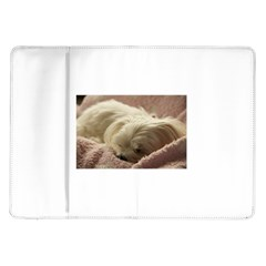 Maltese Sleeping Samsung Galaxy Tab 10.1  P7500 Flip Case