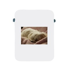 Maltese Sleeping Apple iPad 2/3/4 Protective Soft Cases