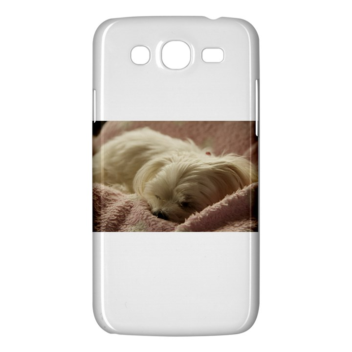 Maltese Sleeping Samsung Galaxy Mega 5.8 I9152 Hardshell Case