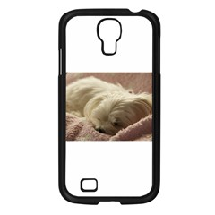 Maltese Sleeping Samsung Galaxy S4 I9500/ I9505 Case (Black)