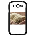 Maltese Sleeping Samsung Galaxy Grand DUOS I9082 Case (Black) Front