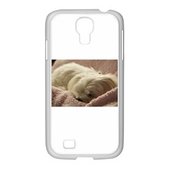 Maltese Sleeping Samsung GALAXY S4 I9500/ I9505 Case (White)