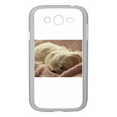 Maltese Sleeping Samsung Galaxy Grand DUOS I9082 Case (White)
