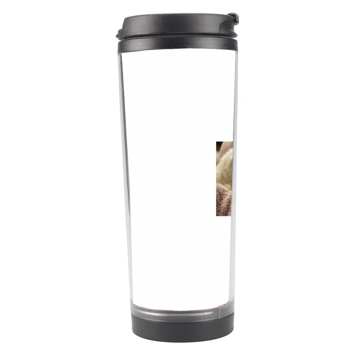 Maltese Sleeping Travel Tumbler